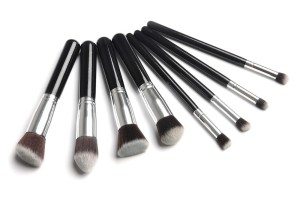 Professional-8pcs-black-Foundation-blush-Liquid-brush-Kabuki-Makeup-Brush-Set-Cosmetics-Tool-ZH113-Alishow